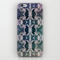 lace iPhone & iPod Skins featuring Lace by Truly Juel