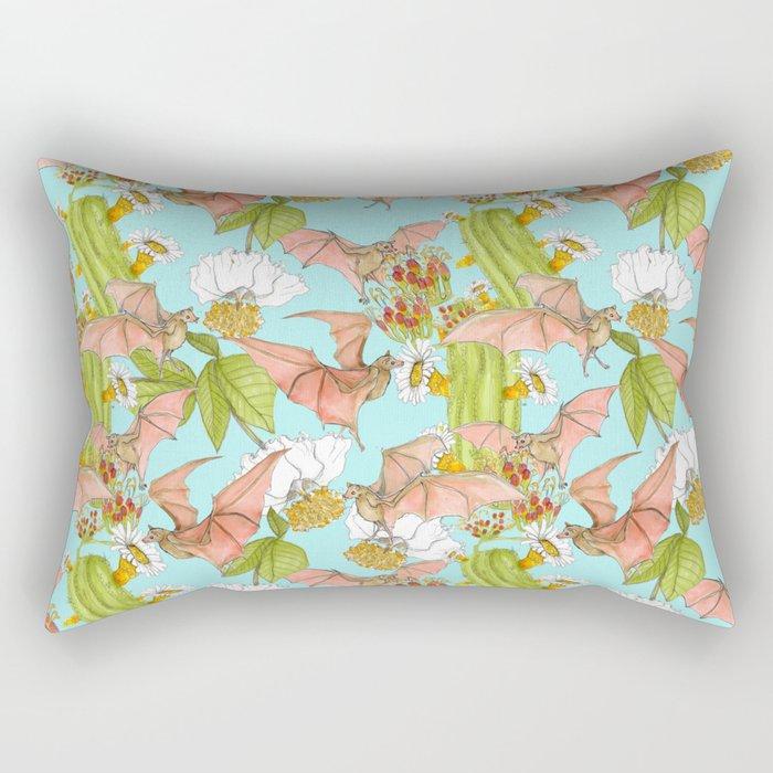 Agave Bats Rectangular Pillow