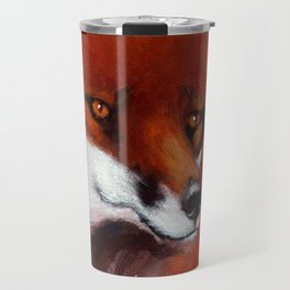 The Watching Fox Travel Mug