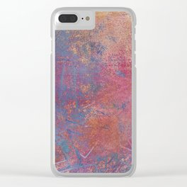 Abstract No. 458 Clear iPhone Case