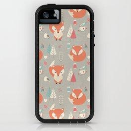 Baby fox pattern 01 iPhone Case