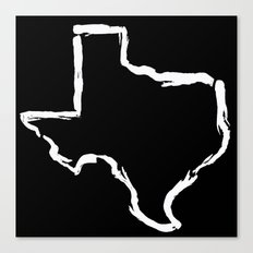 Best. State. Ever. (in white) Canvas Print