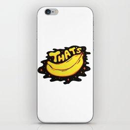 That's Bananas iPhone Skin