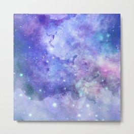 Colorful deep space background Metal Print