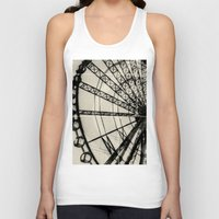ferris wheel Tank Tops featuring Ferris Wheel by Phoenix Prints