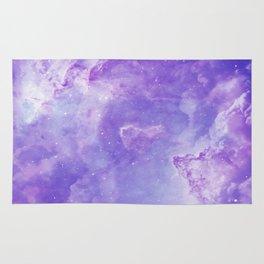 Violet galaxy Rug