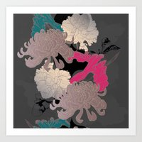 The Floral Continuation Art Print