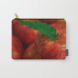 Textured Apples Carry-All Pouch