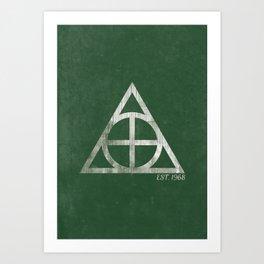 Knights Logo Art Print