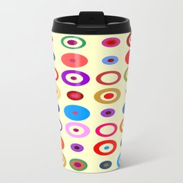 Op Art #7 Travel Mug