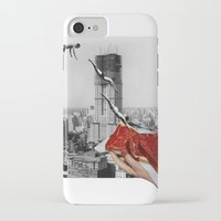 metropolis iPhone & iPod Cases featuring Metropolis by Lerson