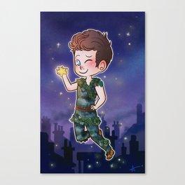 Peter Pan Canvas Print