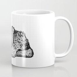 Canis mesomelas Coffee Mug