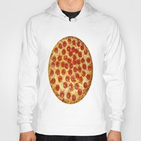 pizza Hoodies featuring Pizza by I Love Decor