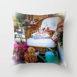 The Favourite Chair Throw Pillow