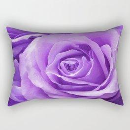 Violet roses Rectangular Pillow