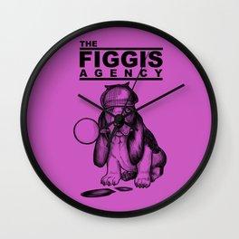 The Figgis Agency Flyer Wall Clock