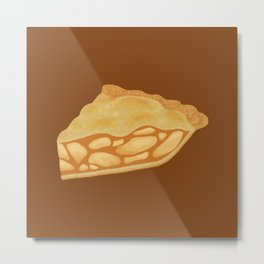 A Piece of Apple Pie Metal Print