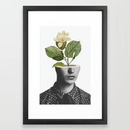 Frida In Bloom Framed Art Print