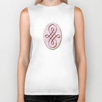 karen hallion Biker Tanks featuring Karen (#TheAccessoriesSeries) by Wayne Edson Bryan