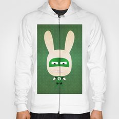 We are all rabbits \ Flash  Hoody