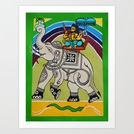 Maharaja Art Print