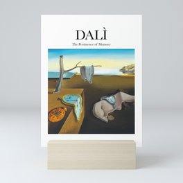 Dalì - The Persistence of Memory Mini Art Print