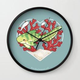 MUNCH the Zebra Shark Wall Clock