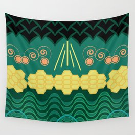 Rainforest HARMONY pattern Wall Tapestry