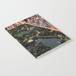 Central Park New York Notebook