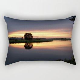 Peaceful Sunset Rectangular Pillow