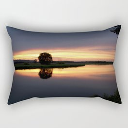 Peaceful Sunset Rectangular Pillow