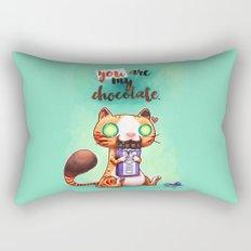 Chocolate addict Rectangular Pillow