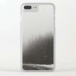 Foggy Yukon Clear iPhone Case