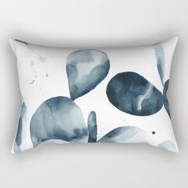 Indigo Paddle Cactus Rectangular Pillow