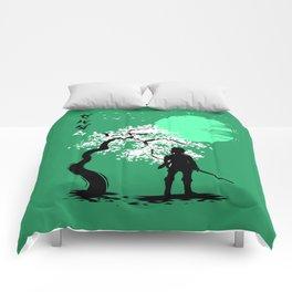 Cherry tree last hero Comforters