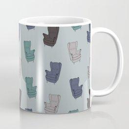 Seventies Armchair Pattern - Version 2 #society6 #seventies Coffee Mug