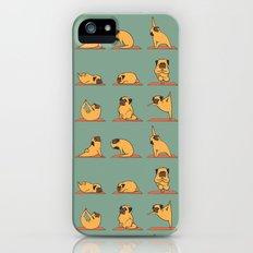 Pug Yoga Slim Case iPhone SE