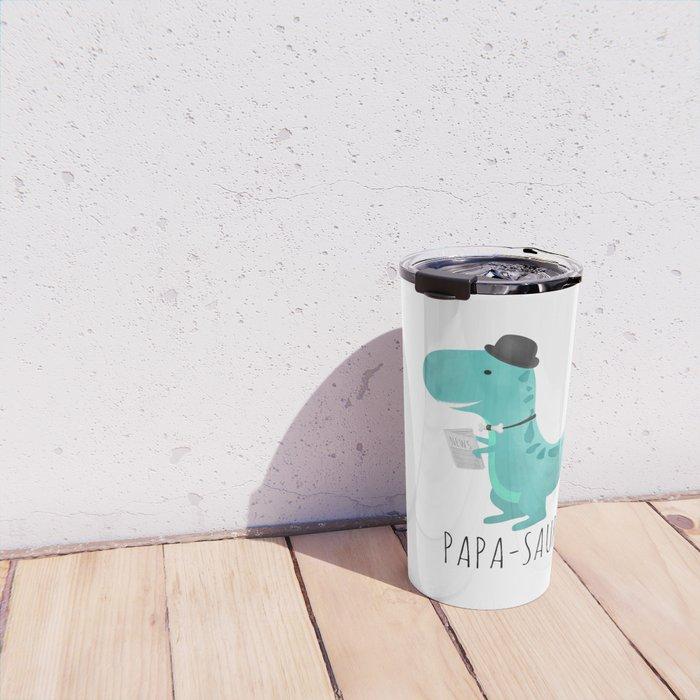 Papa-saur Travel Mug