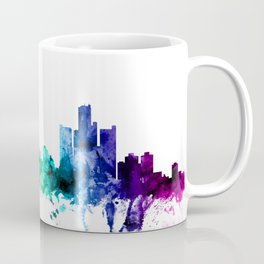 Detroit Michigan Skyline Coffee Mug