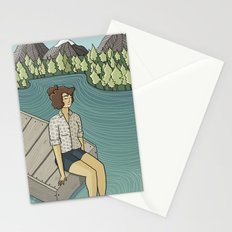 Lake Time Stationery Cards