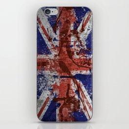 Union Jack Graffiti 2 iPhone Skin