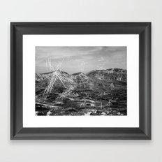 album of noises (#2) Framed Art Print
