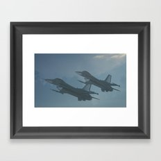 Ghost Flight Framed Art Print