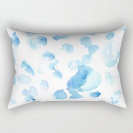 180515  Abstract Watercolour Wp 6    Watercolor Brush Strokes Rectangular Pillow
