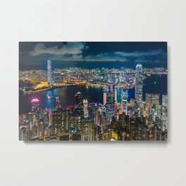 HONG KONG 10 Metal Print