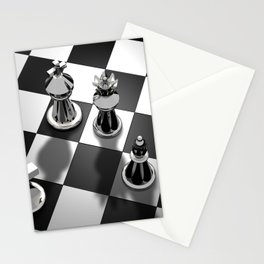 Chess 2 Stationery Cards