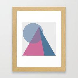 Pyreamidst Framed Art Print