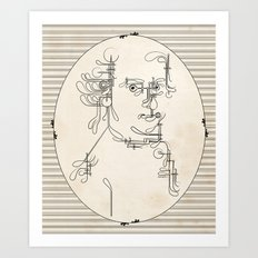Custom made Mozart Art Print