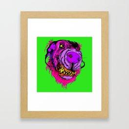 serrated Framed Art Print